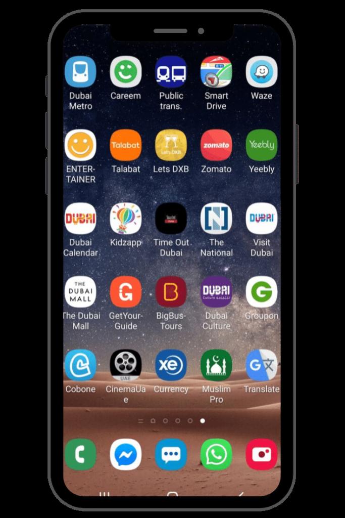 Dubai Apps for Travellers