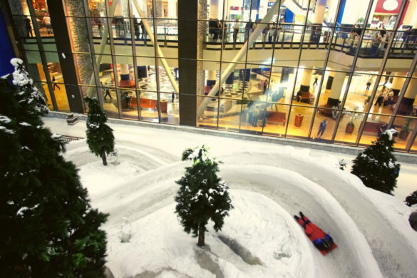Ski Dubai indoors ways to enjoy Dubai in July