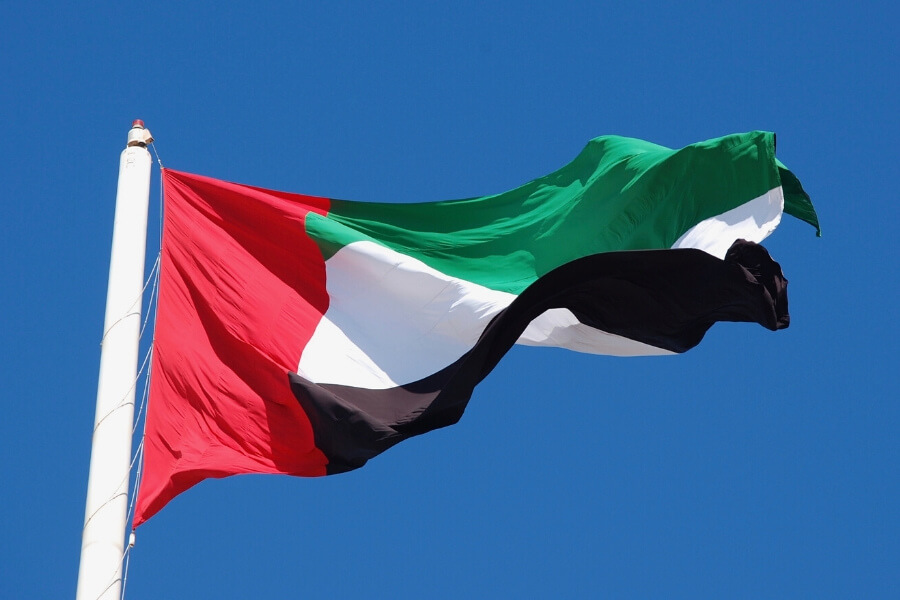 Flag of the United Arab Emirates