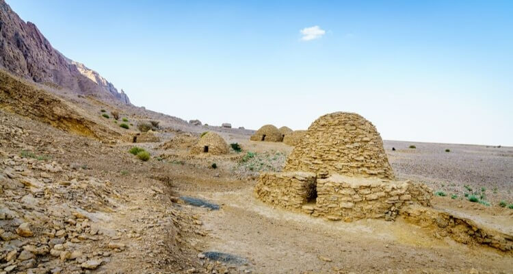 Bee Hive Tombs UNESCO Site in Al Ain UAE