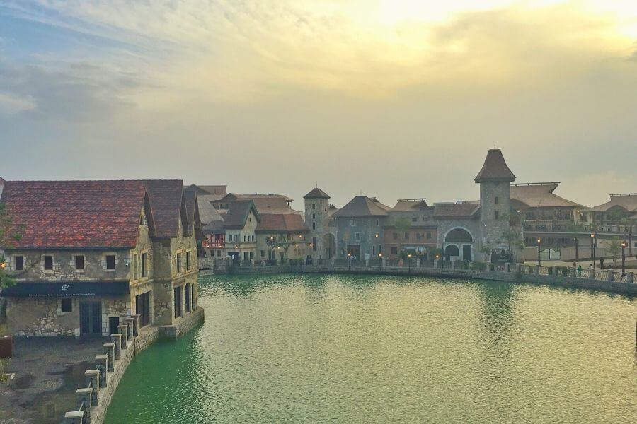 Riverland Dubai Parks and Resorts French Village