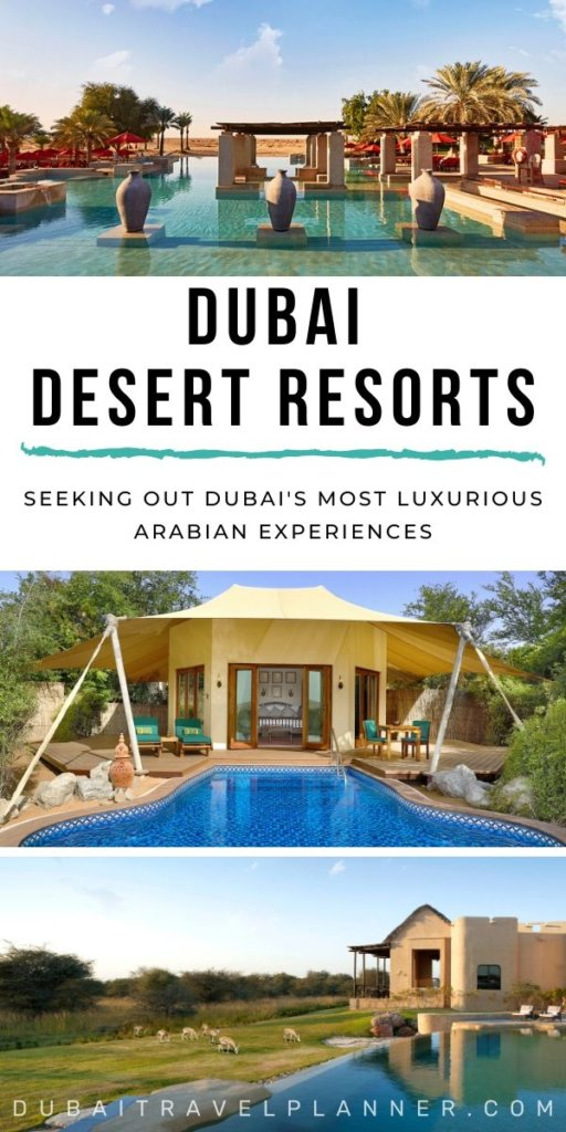 Dubai's Most Luxurious Desert Resort Experiences